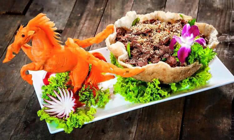 Ẩm thực Sơn Thiên