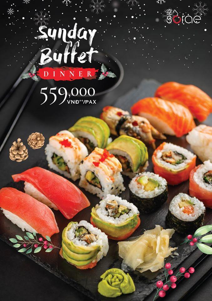 Nhà hàng Sorae Sushi Sake & Lounge