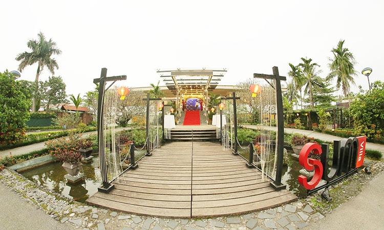 Nhà hàng SUM Villa là nhà hàng sinh thái đậm chất thiên nhiên ở Hà Nội