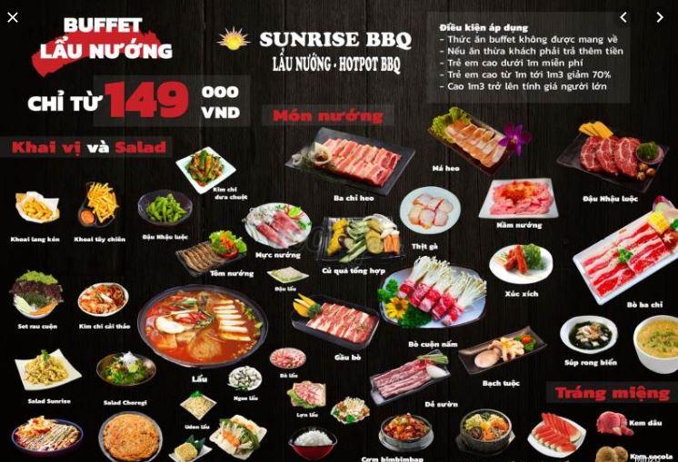 Sunrise Restaurant - BBQ & Hotpot - Bach Dang