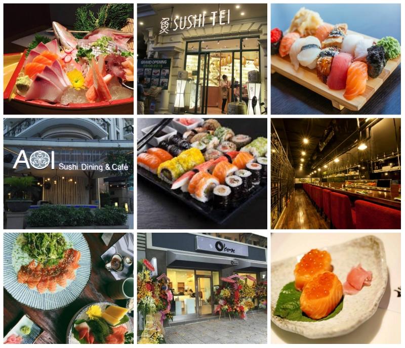 Top 13 Nhà hàng sushi Nhật Bản ở thành phố Hồ Chí Minh
