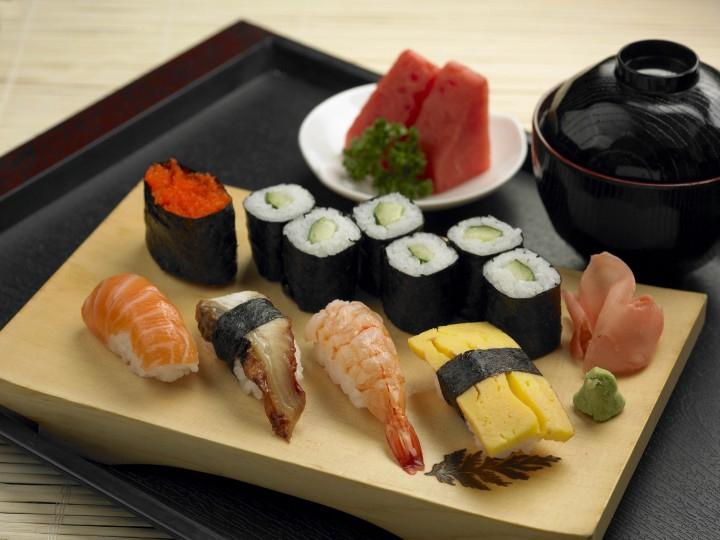 Một phần Sushi tại quán