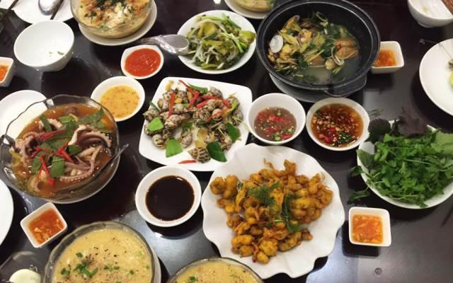 Những món hải sản được chế biến theo yêu cầu của khách hàng
