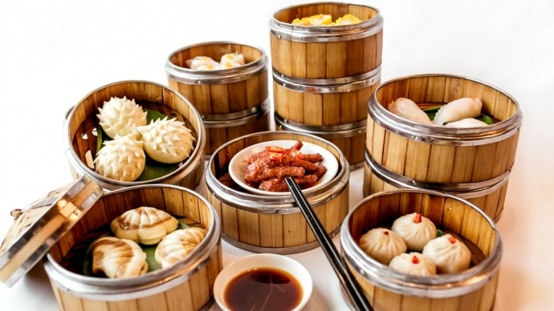 Dimsum món ăn nổi tiếng tại nhà hàng Tao Li