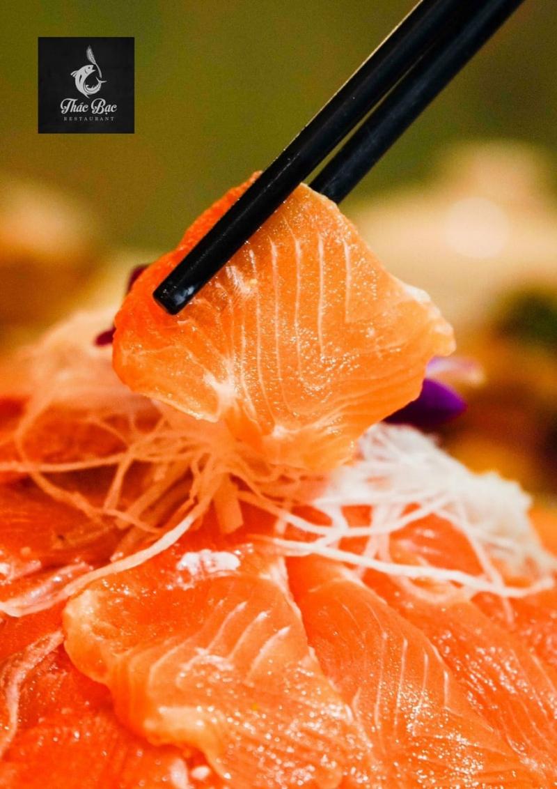 Nhà Hàng Thác Bạc - Cá Tầm Cá Hồi Tươi Sống
