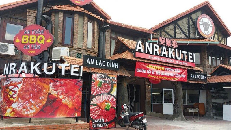 Nhà hàng thịt nướng Anrakutei
