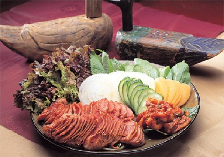 món ăn tại  Nhà hàng thịt vịt Nolboo Sulfur