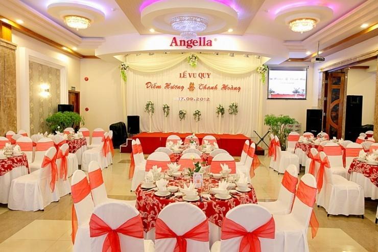 Nhà hàng tiệc cưới Angella Nha Trang - Nhà hàng tiệc cưới nổi tiếng nhất Nha Trang