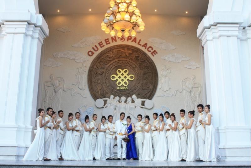 Đại sảnh nhà hàng tiệc cưới King's Palace- Queen Palace