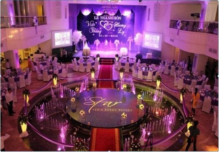 Nhà hàng tiệc cưới Star Palace - Nhà hàng tiệc cưới nổi tiếng nhất Nha Trang