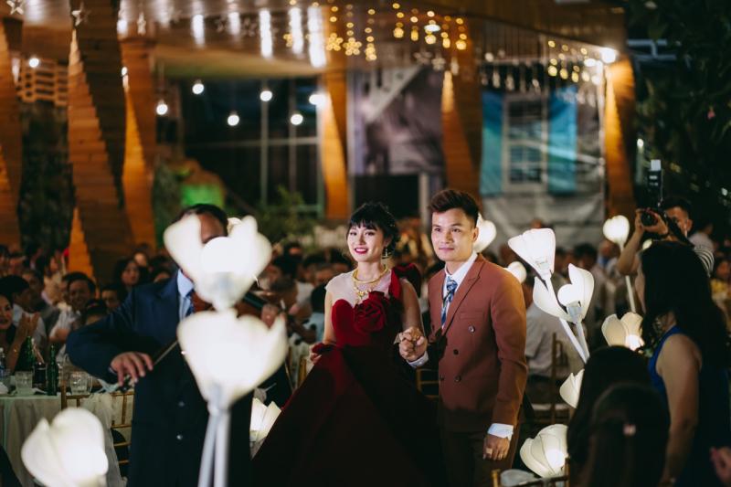 Tiệc cưới tại nhà hàng Tâm Châu
