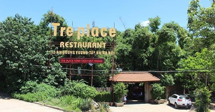 Nhà hàng Tre Place như làm sống lại một không gian làng quê Việt Nam yên bình đầy thơ mộng