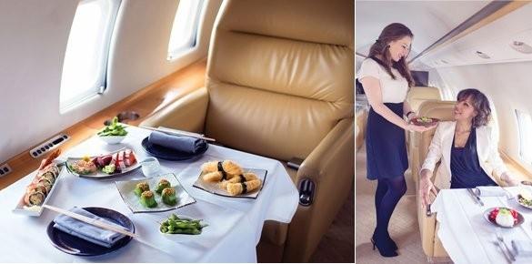 Nhà hàng trên máy bay