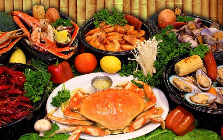 Nhà hàng Xóm Vắng 3 chuyên phục vụ hải sản Hạ Long