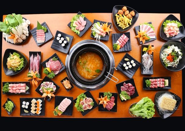Các món ăn tại Yaki BBQ đều được chế biến từ những nguyên liệu tươi ngon