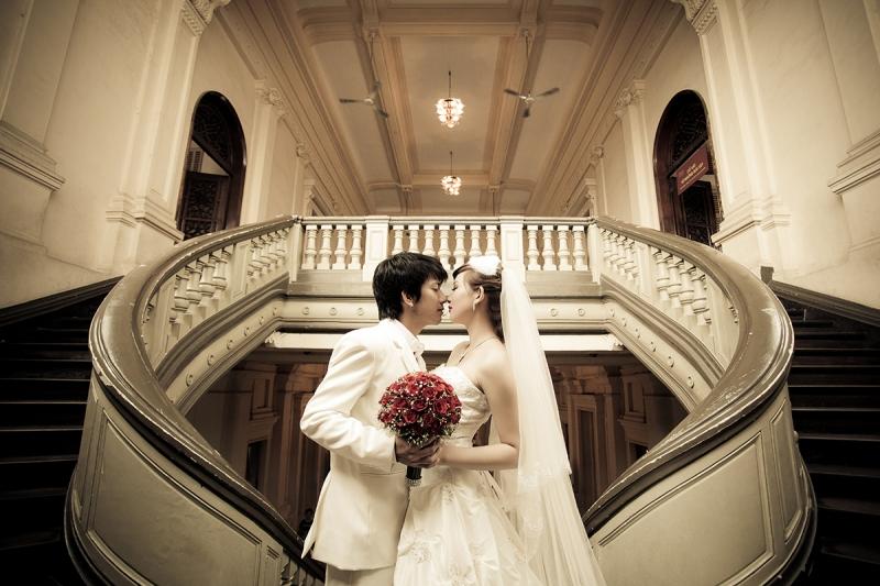 Sẽ là điểm nhấn đặc biệt trong bộ ảnh cưới của bạn phải không nào.