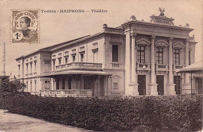 Nhà hát lớn Hải Phòng xưa