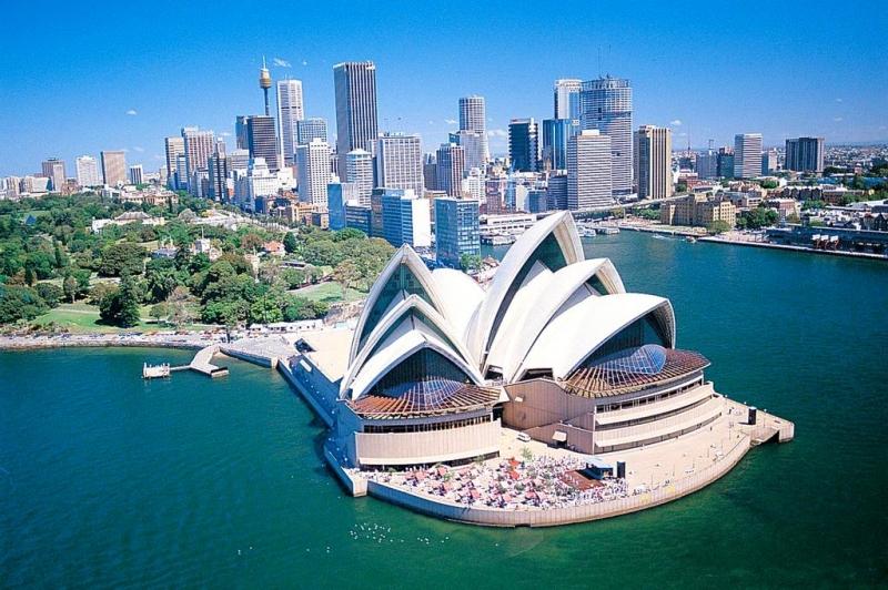 Nhà hát Opera Sydney – Úc