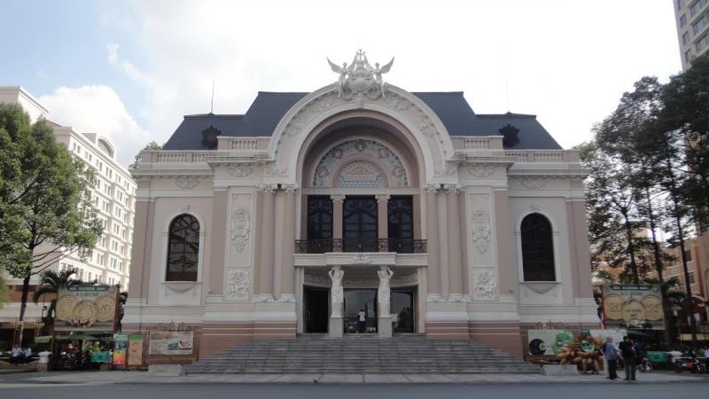 Nhà hát Lớn Thành phố Hồ Chí Minh (nguồn: Internet)