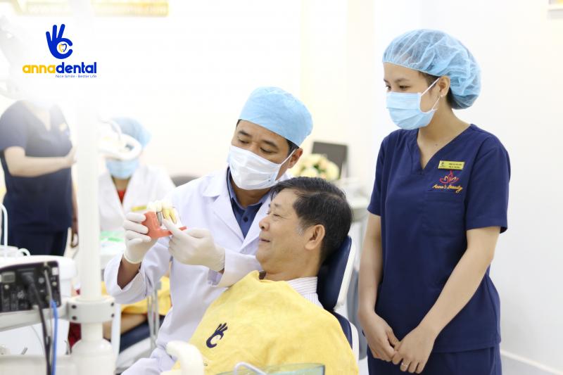 Bác sĩ Nguyễn Quang Việt - Giám đốc chuyên môn nha khoa Anna/ Trưởng khoa KTC BV RHM Hồ Chí Minh)