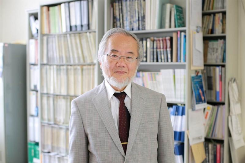 Nhà khoa học người Nhật Yoshinori Ohsumi giành giải Nobel y học