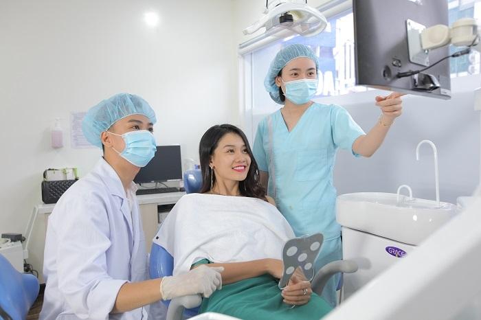 Bệnh nhân điều trị tại Nha khoa Kim