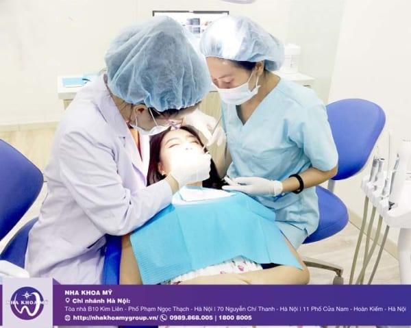 Điều trị viêm nha chu tại nha khoa Mỹ