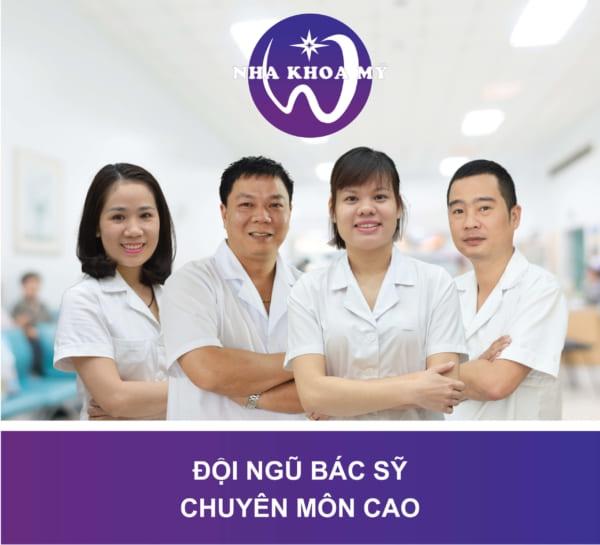Đội ngũ bác sĩ giỏi tại nha khoa Mỹ