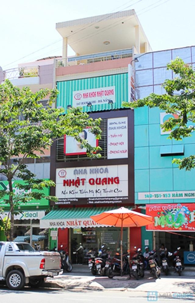 Cơ sở vật chất hiện đại của nha khoa Nhật Quang