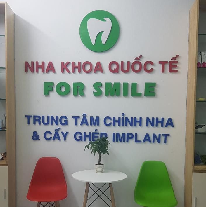 Nha Khoa Quốc Tế For Smile tại Lục Ngạn.
