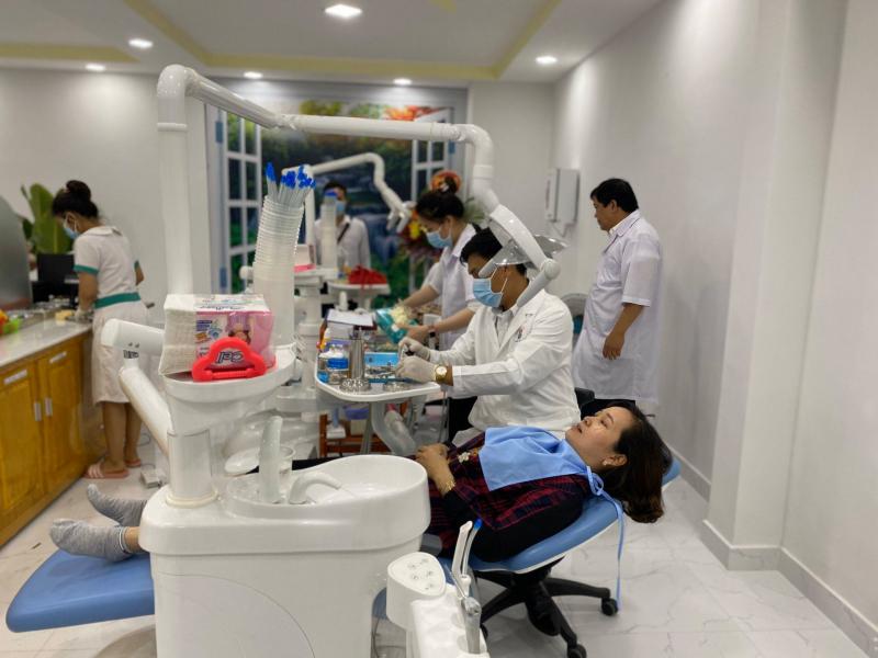 Trang thiết bị hiện đại cùng đội ngũ y bác sĩ tâm huyết và tận tình