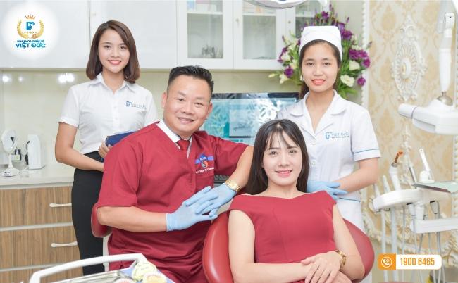 Khách hàng tin cậy lựa chọn nha khoa Việt Đức