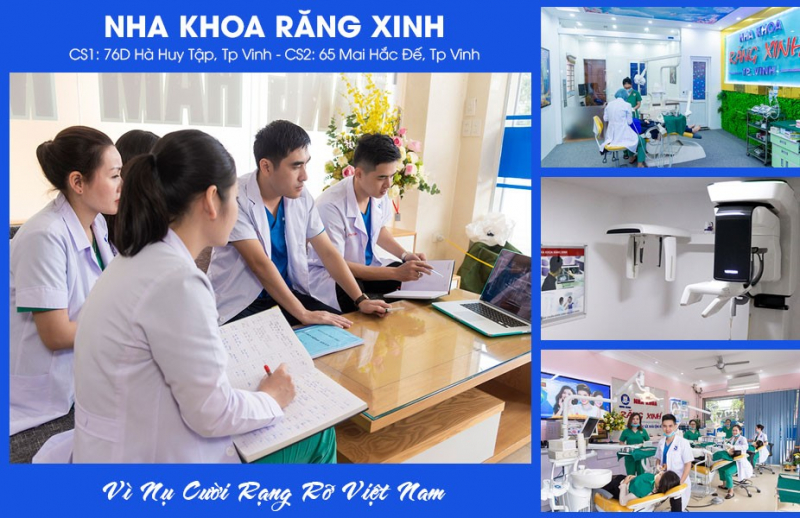 Nha khoa Răng xinh - vì nụ cười rạng rỡ Việt Nam