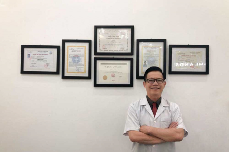 Bác sĩ Nguyễn Thanh Sơn