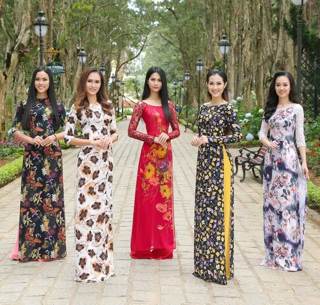 Mẫu áo dài đẹp tại Thanh Vân