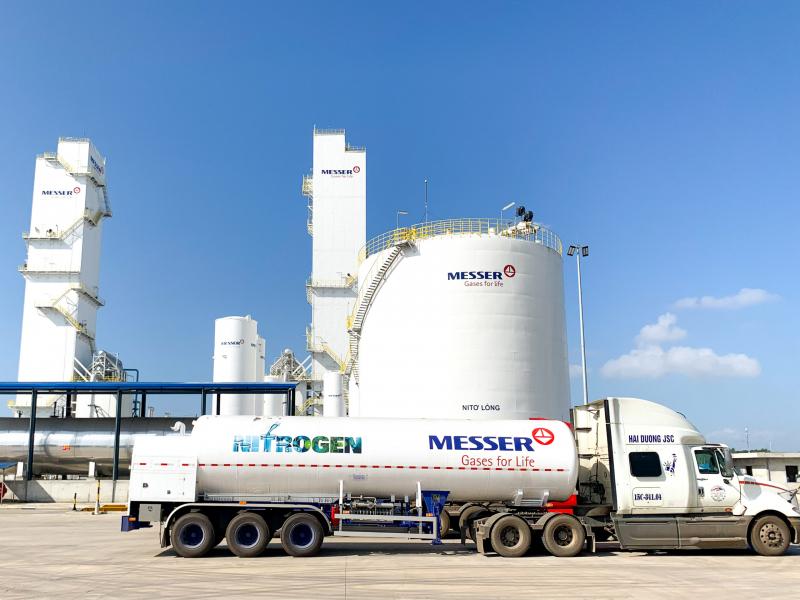 Nhà máy khí công nghiệp lớn nhất Việt Nam