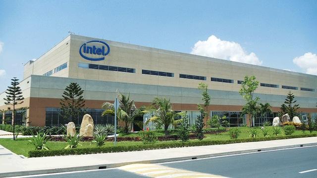 Nhà máy lắp ráp chip Intel
