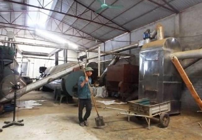 Nhà máy sản xuất bột cá tỉnh Cà Mau