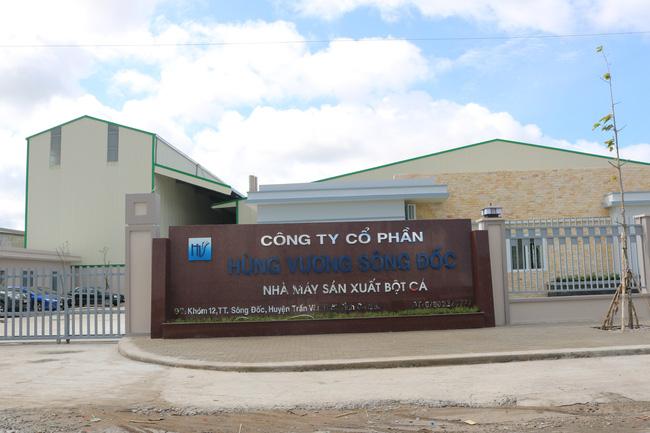 Nhà máy sản xuất bột cá Cà Mau