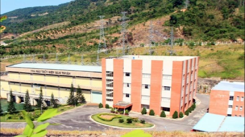 Hình ảnh nhà máy thủy điện Hàm Thuận