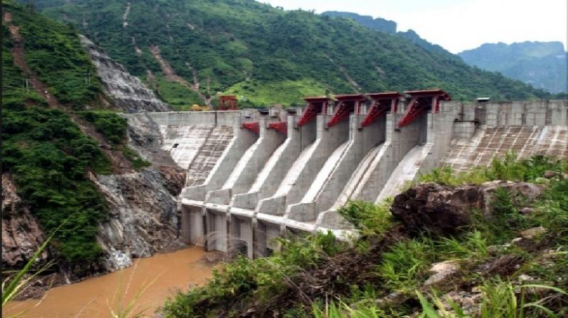 Hình ảnh nhà máy thủy điện Huội Quảng
