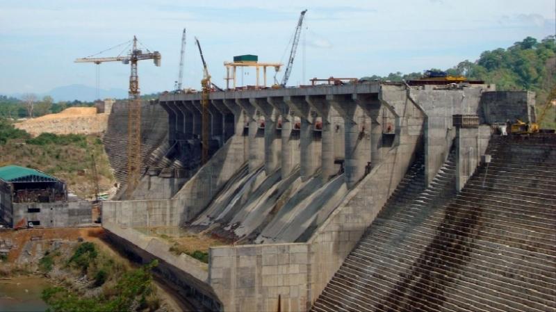 Hình ảnh nhà máy thủy điện Sêsan 4