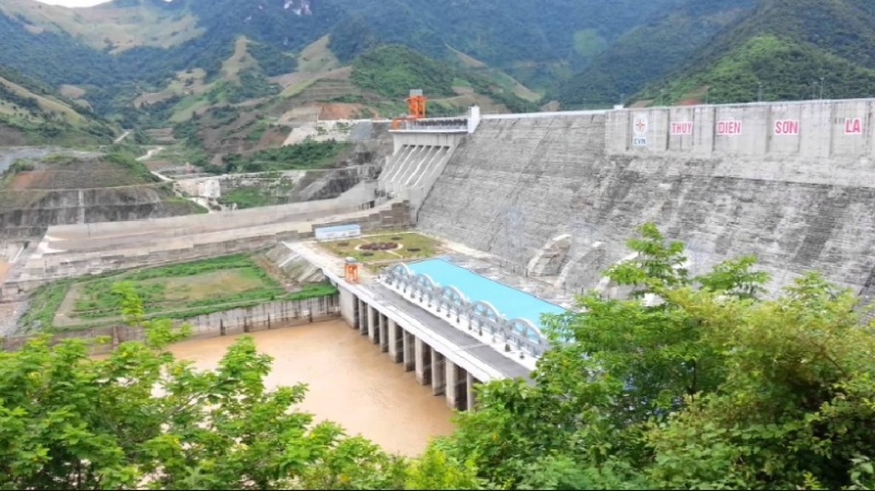 Hình ảnh nhà máy thủy điện Sơn La