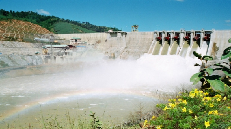 Hình ảnh nhà máy thủy điện Yali