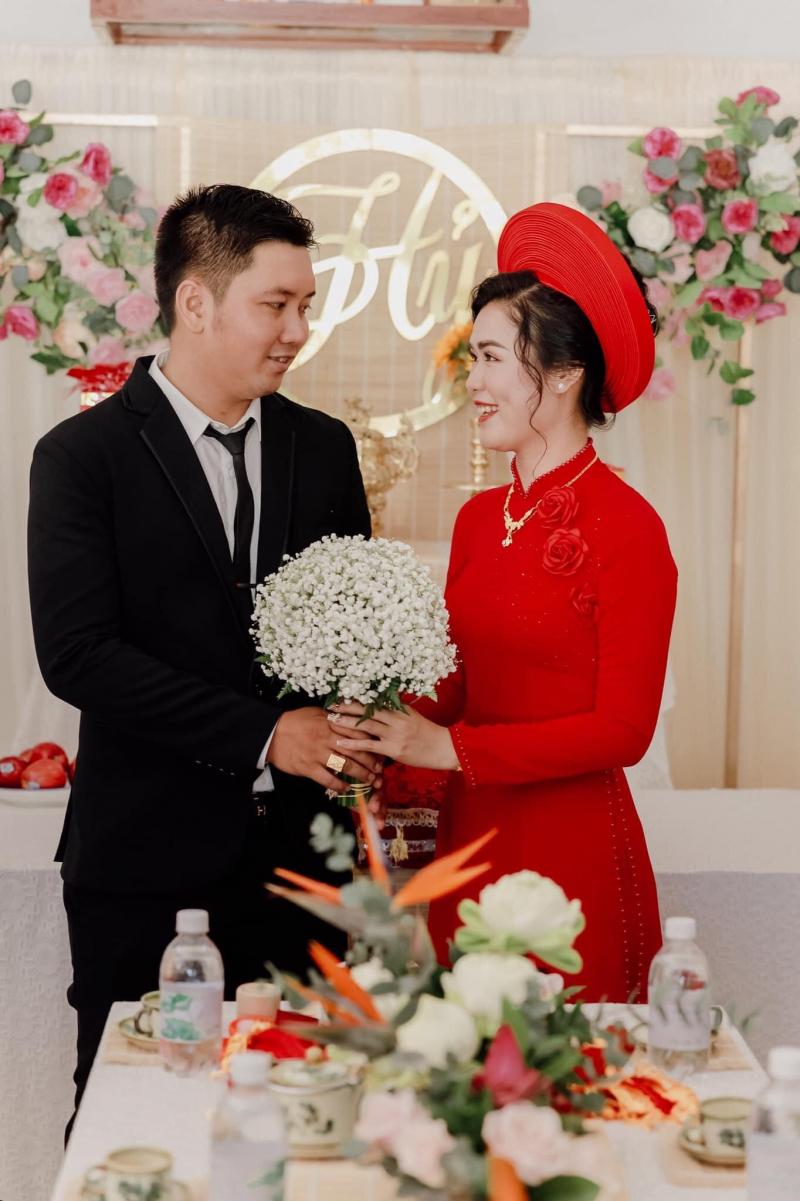 Nhà may Thùy Trang mang đến những chiếc áo dài đẹp nhất trong ngày quan trọng nhất của cuộc đời