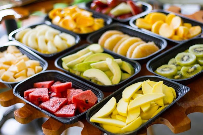 Nhiều loại trái cây khác nhau