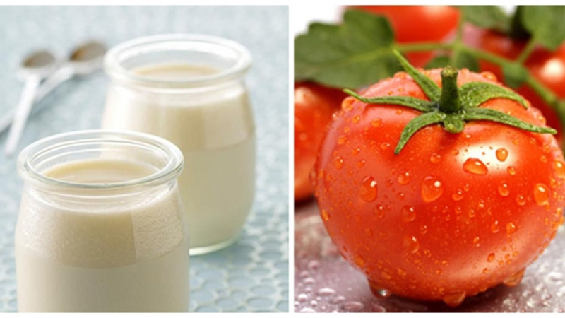 Mặt nạ  từ  hỗn hợp cà chua và sữa chua là một phương pháp chăm sóc da trắng sáng tự nhiên khá đơn giản nhưng lại mang lại hiệu quả rất lớn cho da bạn
