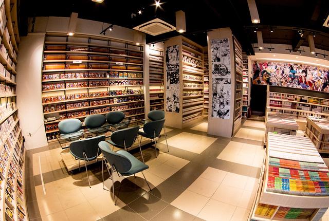Nhà sách Kim Đồng có một không gian vô cùng đẹp