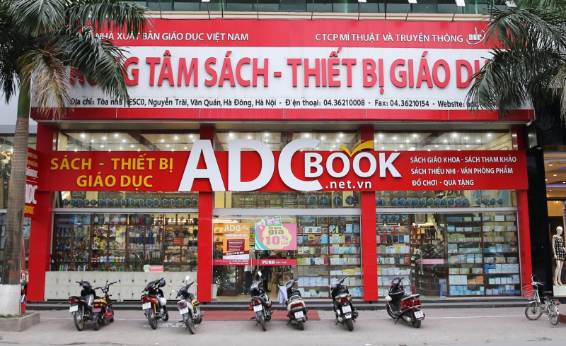 Trung tâm Sách - Thiết bị Giáo dục AdcBook.