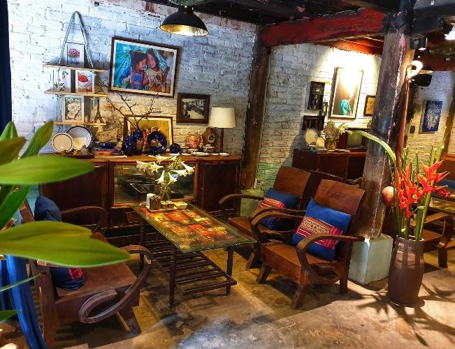 Nhà sàn Art - Cafe kiểu vintage cho người độc thân